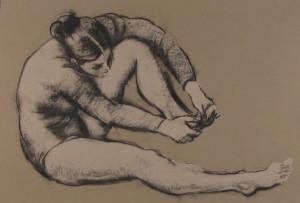 Messina-Ballerina che si tocca un piede