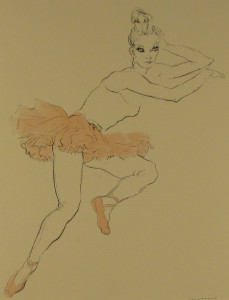Messina-Ballerina con tutu rosa
